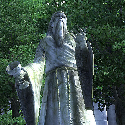 Posąg Stendarra z gry The Elder Scrolls IV: Oblivion