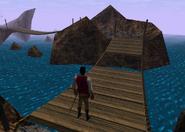 Redguard - Retrieve N'Gasta's Amulet - Eighth Bridge