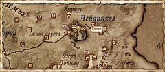 Кемен. Карта