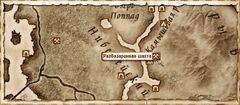 Разбазаренная шахта. Карта