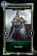Guardiana duelo