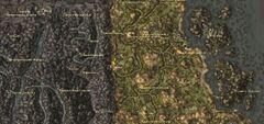 Нчулефт. Карта