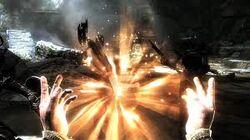 Healing Dual Cast (Skyrim)