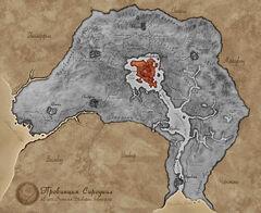 Карта Сиродила - Городской остров