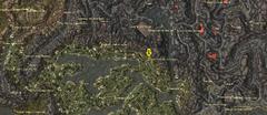 Родовая гробница Сандасов. Карта
