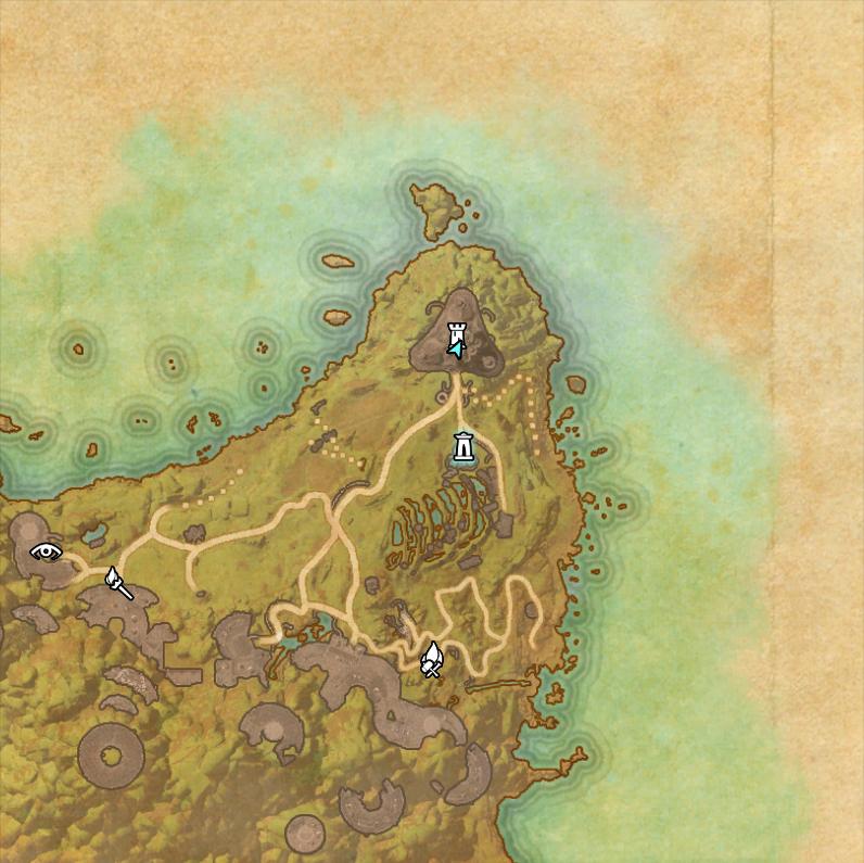 Image - Ceporah Tower World Map.png   Elder Scrolls   FANDOM powered ...