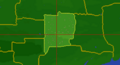 Charenvale Hill map location.png