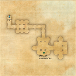 Indoril Crypt Map