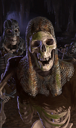Skeleton card art