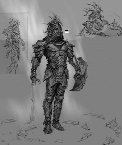 File:TESV Concept Orcish Armor.jpg