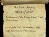 The Eight Steps of Mummification