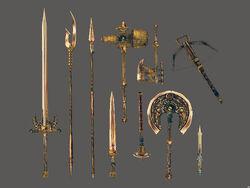 Двемерское оружие (Morrowind)