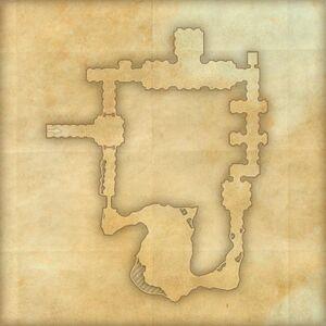 Катакомбы Зелёного холма (план)