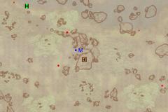 Пещера Поток Крови - план на местности