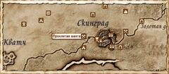 Проклятая шахта. Карта