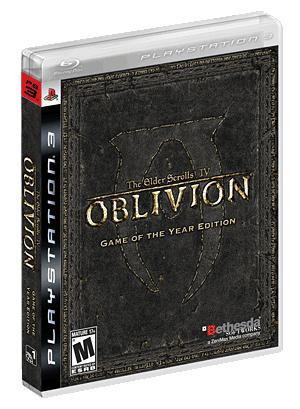 the elder scrolls iv oblivion game of the year edition the elder