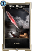 Steel Dagger (Legends) DWD