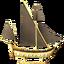 Золотая модель корабля (Skyrim)