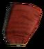 Красный шёлковый капюшон