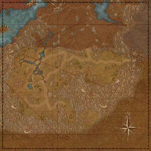 Падшая пустыня (карта)