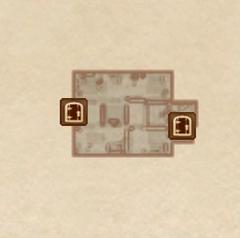 Серебряный дом на воде - Второй этаж. План