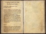 Crafting Motifs 36, Dark Brotherhood Boots