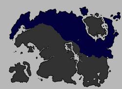 Primo impero dei nord alla sua massima estensione