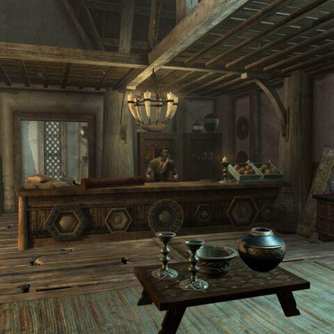 Wnętrze sklepu Belethora