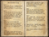 The Falconer's Log