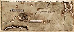 Воющая пещера. Карта