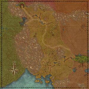Высоты Тарлайн (карта)