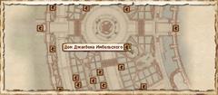Дом Джакбена Имбельского. Карта