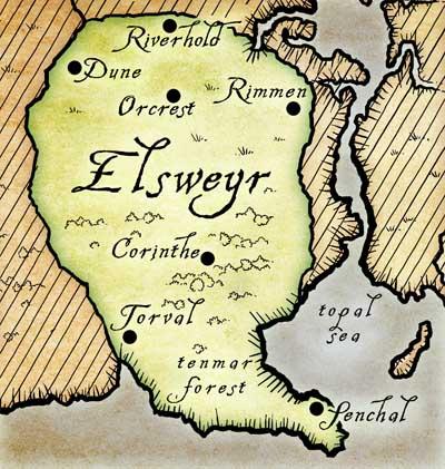 Эльсвейр карта