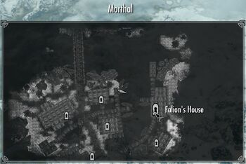 Skyrim building house in morthal
