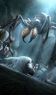Frostbite Spider card art