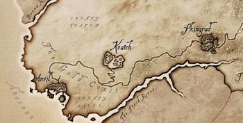 Costa Oro mappa Oblivion