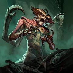 """Karta """"Mroczny żniwiarz"""" z gry The Elder Scrolls: Legends"""