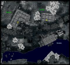 Деревня Анга - план