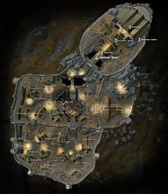 Нижняя кузница на карте Вайтрана