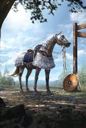 Доспехи для лошади (Арт)