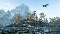 Озеро Гейр - островок и дракон