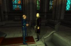 Туминдил беседует с Валандрусом Абором