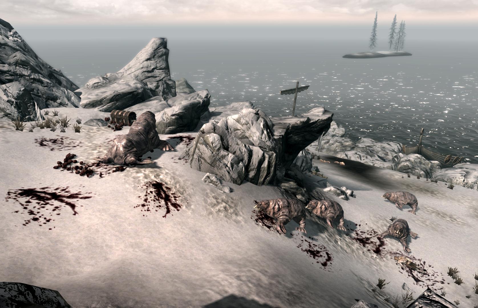 Horker Island Elder Scrolls Fandom Powered By Wikia