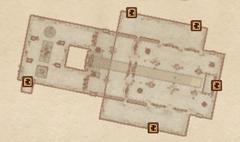 Большой зал О. План