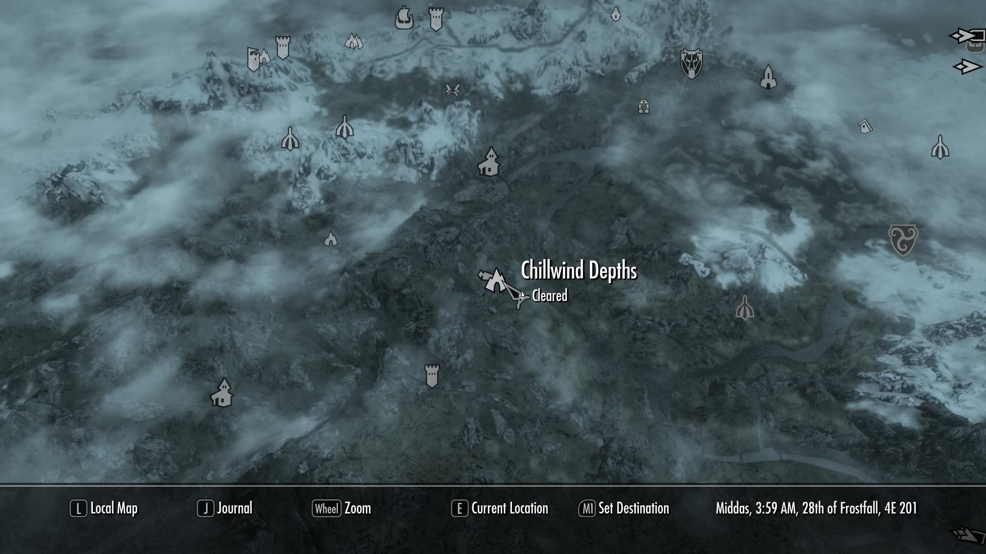 Chillwind Depths   Elder Scrolls   FANDOM powered by Wikia