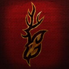 Herb Hircyna z sztandaru z gry The Elder Scrolls Online