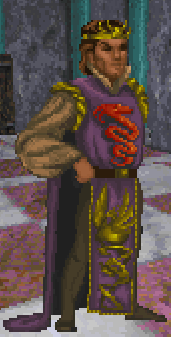 King Gothryd full body daggerfall