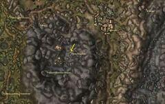 Эбонитовая шахта Кальдеры. Карта