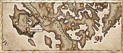 Зеддефен. Карта