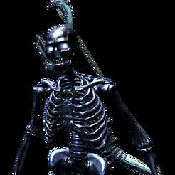 Костяной человек лучник